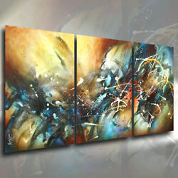 Abstract Art Original Painting Modern Contemporary Decor Mix Lang cert. unique $1295.00