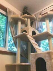 Cat Condo For Indoor Big Tower Multi Giant Castle And Large Extra Tree Tall 72quot; $99.98