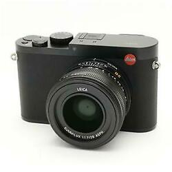 Leica Q (Typ116) black with Original box instruction manual battery charger