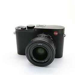 Leica Q (Typ116) black with Original box the inner box instruction manual bat