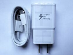 Adaptive Fast Charging Type C Cable Wall Charger Adapter USB C Cord 9V 1.67A $5.94