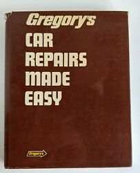 Gregory's Car Repairs Made Easy Step By Step Servicing Repairs 1984 (9618)