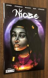 NIOBE She is Life #1 (Stranger) -- Convention VARIANT -- HBO -- NM- Or Better