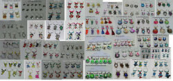 Assorted Wine Charms Glass Markers Owls Wedding Betty Boop Snoopy Dog Pokemon