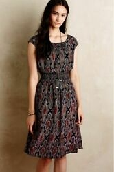 Anthropologie Maeve Eveline Dress size Small with Pockets $46.00