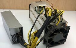 Bitmain Antminer S9 Bitcoin Miner 13.5 with 1600w power supply works 100%