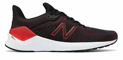 New Balance Men's VENTR Shoes Black with Red