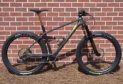 2018 Specialized S-Works Fuse Large Carbon 27.5+ XX1 Eagle Gold Fox Transfer