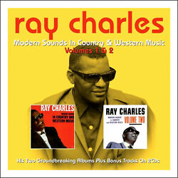 RAY CHARLES  * Modern Sounds In Country & Western Music VOL 1 & 2 * NEW 2-CD Set
