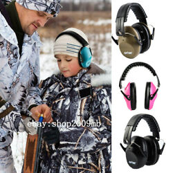 Noise Cancelling Ear Muffs Kid Ear Shooting Noise Gun Range Safety Headphones $17.99