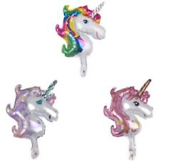 Unicorn Balloons Birthday Party Supplies for Kids Birthday Decorations Big Size $4.99