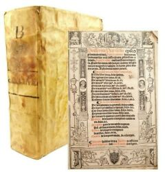 1516 Opera Summa GuillermusWilliam of Auvernge.16th century Mexico provenance $1,499.99