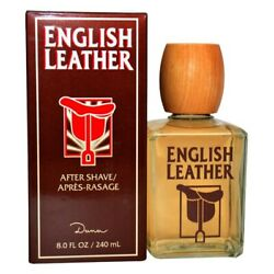 ENGLISH LEATHER MEN by DANA HUGE 88.0 oz (236 ml) After Shave Lotion NEW SEALED