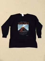 Volcanoes National Park Hawaii Advice From A Volcano T-Shirt Kids Small Long LS