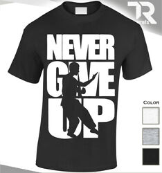 NEW NEVER GIVE UP WING CHUN MIXED MARTIAL ARTS T SHIRT MMA UFC FIGHTER COMBA IP GBP 14.99