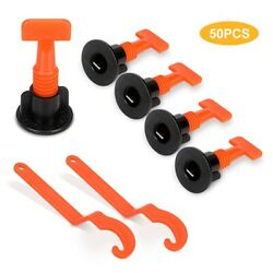 50X DIY Reusable Floor Ceramic Wall Construction Tile Leveling System Kit tools $15.99