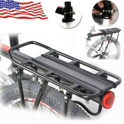 Back Rear Pannier Rack Alloy Bike Bicycle Seat Post Frame Mount Carrier Holder $24.00