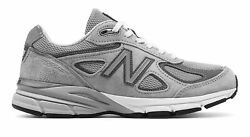 New Balance Women's 990V4 Made In Us Shoes Grey