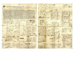 Ship's Contract From 1794 for the Ship ''William''
