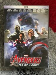 Avengers: Age of Ultron (DVD 2015) Marvel Ironman Thor Hulk James Spad