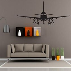 Aircraft Plane Wall Art Stickers Kids Baby Vinyl Decals Home Stickers Decor LD $7.04