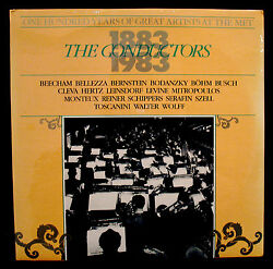THE CONDUCTORS 1883-1993-One Hundred Years Of Great Artists-Sealed Double Album $14.99