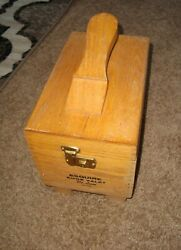 ESQUIRE Shoe Valet Deluxe - Wooden Shoe Shine Box - 16 items included