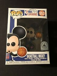 Funko Disney NBA Experience Mickey Mouse Basketball #553 Pop Vinyl Figure Rare