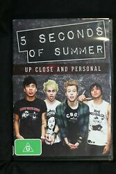 5 Seconds of Summer Up Close and Personal R 4 D472 AU $14.99