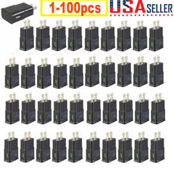 Lot 1 100 Plug USB Power Adapter AC Home Wall Charger For Samsung S7 S6 Edge $9.99