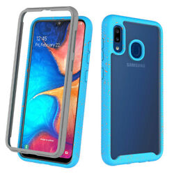 For Samsung Galaxy A10e A20 A50 Shockproof Phone Case Hybrid Rugged Armor Cover