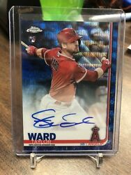2019 Topps Chrome Taylor Ward Auto Autograph RC 5150 Blue Refractor