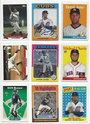 2019 TOPPS ARCHIVES #'s 1-200  ( RC's STARS HOF ) - WHO DO YOU NEED!!!