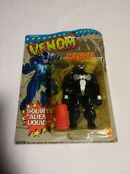 MARVEL SUPER HEROES VENOM SQUIRTS ALIEN LIQUID 17 BACK TOY BIZ
