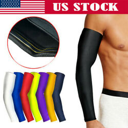 Arm Sleeve Basketball Sports Elbow Support Compression Elasticated Arm protector