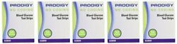 Prodigy Test Strips Box of 50 - 5 Pack
