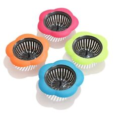 4 Pcs Plastic Kitchen Sink Drain Strainer Filter Catching Food Particles 4.5#x27;#x27; $8.99