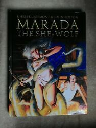 Marada the She-Wolf Hardcover First Edition Claremont Bolton Sword Sorcery