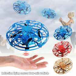 Flying Drone Kids RC Hand Motion Mini Smart Control Flying UFO Ball Aircraft Toy $9.89