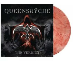 """Queensryche """"The Verdict"""" Limited Bloodshot Vinyl Exclusive LP Only 500 Pressed"""