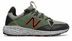 New Balance Men's Fresh Foam Crag Trail Shoes Green with Black