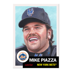 2019 TOPPS LIVING SET 235 MIKE PIAZZA NEW YORK METS HOF (PRE-SALE)