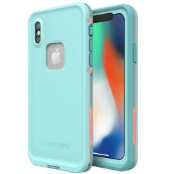 Authentic Lifeproof FRE iPhone X iPhone Xs Waterproof Case Nite Lite Black Lime