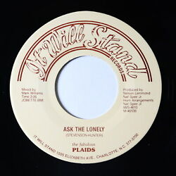 70s Soul 45 - Fabulous Plaids - Ask The Lonely - It Will Stand - VG++ mp3