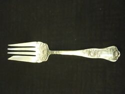 Antique Royal Plate Co Silver Plate Serving Fork 7.5