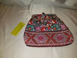 Amy Butler Nora Multi Colored Clutch with Snap Closure and Chain NEW WITH TAGS