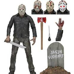 1980 Year NECA Friday the 13th Jason Voorhees Ultimate 7