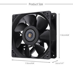 Cooling Fan Replacement 4-Pin Connector For Antminer Bitmain S7 S9 summer Fan US