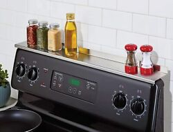 StoveShelf Stainless Steel 30quot; Magnetic Shelf for Kitchen Stove QC REJECT $22.99