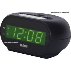 RCA RCD20 - SUPER Extremely Loud Alarm Clock For Heavy Sleeper .7 Inch Display